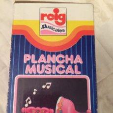 Juguetes antiguos y Juegos de colección: JUGUETE PLANCHA MUSICAL 70. Lote 104239798
