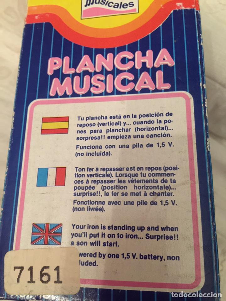 Juguetes antiguos y Juegos de colección: Juguete plancha musical 70 - Foto 4 - 104239798