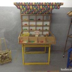 Juguetes antiguos y Juegos de colección: TIENDA COLMADO DE MADERA ANTIGUA. Lote 104923319