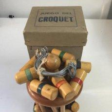Juguetes antiguos y Juegos de colección: CROQUET . Lote 105191439