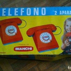 Juguetes antiguos y Juegos de colección: TELEFONOS BIANCHI. Lote 105320671