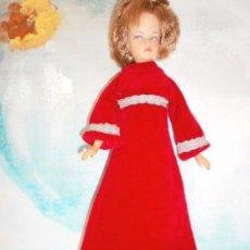 Brinquedos antigos e Jogos de coleção: VESTIDO DE GALA TERCIOPELO ROJO (MUÑECA NO INCLUIDA). Lote 105387307