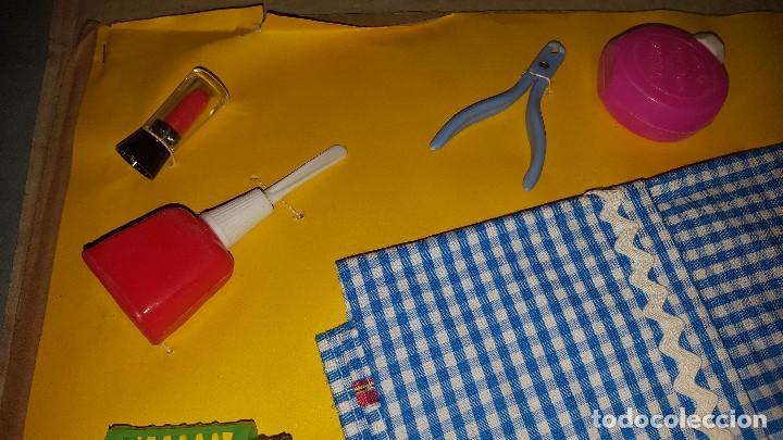 Juguetes antiguos y Juegos de colección: ANTIGUO EQUIPO DE PELUQUERIA Y MANICURA - Foto 4 - 105947283