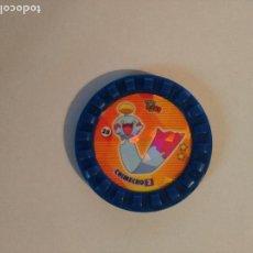 Juguetes antiguos y Juegos de colección: TAZO POKÉMON ROKS - #28 CHIMECHO - MATUTANO. Lote 126650494