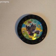 Juguetes antiguos y Juegos de colección: TAZO POKÉMON ROKS - #34 MURKROW- MATUTANO. Lote 106097419