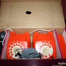 Juguetes antiguos y Juegos de colección: TELEPHONE 2 POSTES - JOUETS MONT-BLANC - AÑOS 70. Lote 107174287