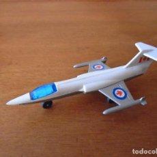 Juguetes antiguos y Juegos de colección: ANTIGUO AVION SP5 STARFIGHTER F-104 METÁLICO DE LA CASA MATCHBOX LESNEY AÑO 1973 MADE IN ENGLAND. Lote 205600781