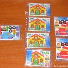 Juguetes antiguos y Juegos de colección: LOTE 7 PUZLES EDUCA PROMOCIONAL CHAMBURCY. Lote 107328271