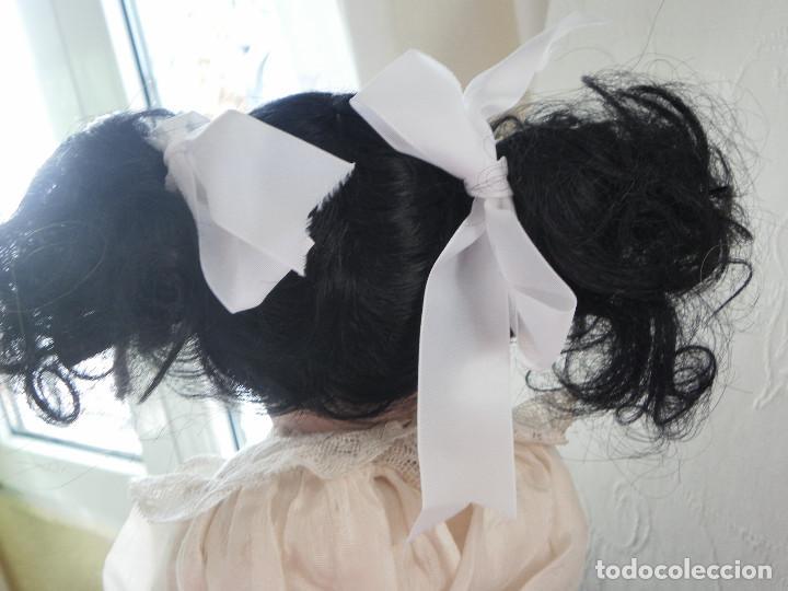 Juguetes antiguos y Juegos de colección: Peluca de pelo natural para Muñeca. Contorno 21-22 cms. - Foto 2 - 107653747