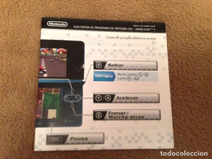 Manual Mario Kart 7 Nintendo 3ds Kreaten Comprar En Todocoleccion