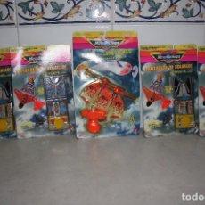 Juguetes antiguos y Juegos de colección: LOTE DE BLISTER LANZADORES DE MICROMACHINES.. Lote 109097967