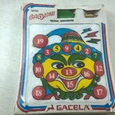 Juguetes antiguos y Juegos de colección: MINI BABY DART-GACELA-VINTAGE -DARDO INOFENSIVO-PRECINTADO-N. Lote 109347431