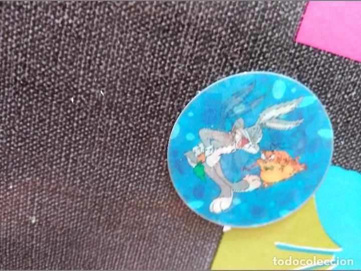 SPACE JAMP JAPAN FRITO LAY MATUTANO CAP TAZO MENKO ROMENKO LOONEY TUNES (Juguetes - Varios)