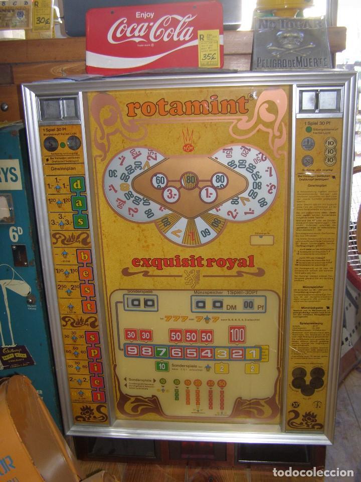 Juguetes antiguos y Juegos de colección: Máquina tragaperras ROTAMINT. Original de 1972 (Germany) - Foto 2 - 111532339