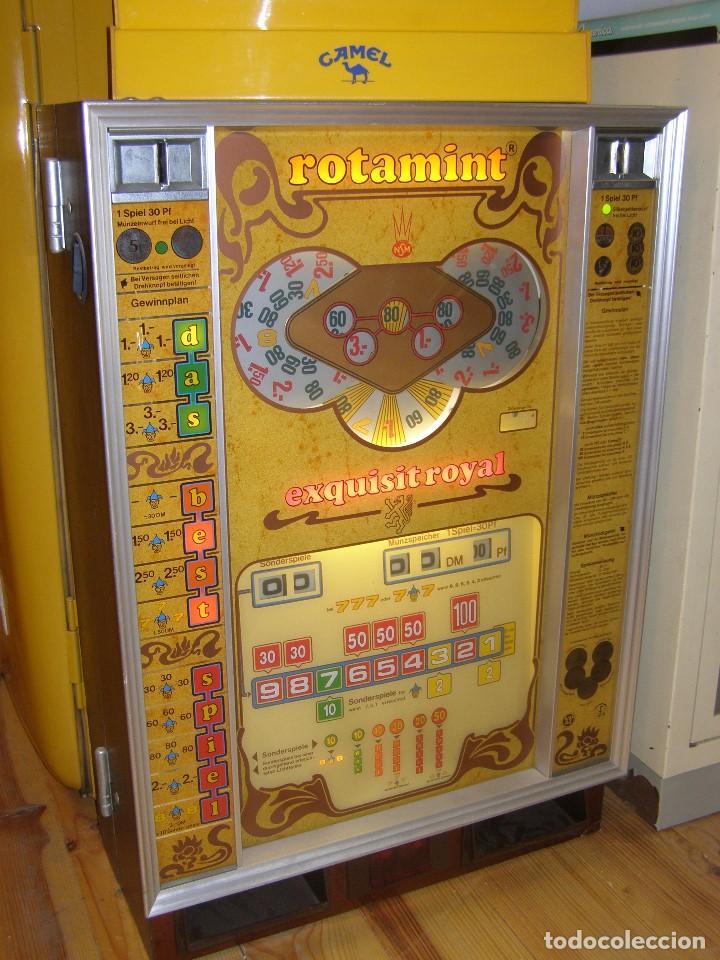 Juguetes antiguos y Juegos de colección: Máquina tragaperras ROTAMINT. Original de 1972 (Germany) - Foto 3 - 111532339