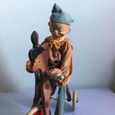 Juguetes antiguos y Juegos de colección: ANTIGUO PAYASO PIRULO. FINALES SIGLO XIX. Lote 111625091