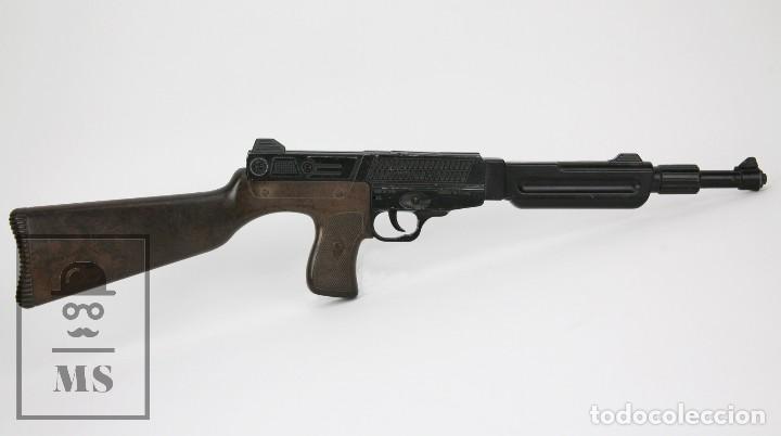 Juguetes antiguos y Juegos de colección: Arma / Escopeta de Juguete - Gonher - Fulminantes / Restallones - Funcionando - Años 70 - Foto 5 - 112306163