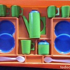 Juguetes antiguos y Juegos de colección: JUEGO DE CAFÉ INFANTÍL DE JUGUETES PUM, FIESTA. COCINA. AÑOS 70-80. Lote 112371455