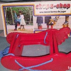 Juguetes antiguos y Juegos de colección: CHAPA CHAP DE WONIL ZANCOS. Lote 112544667