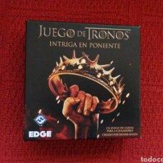 Juguetes antiguos y Juegos de colección: JUEGO DE TRONOS -INTRIGA EN PONIENTE-. Lote 112613366