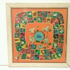 Juguetes antiguos y Juegos de colección: JUEGO DE LA OCA-PARCHIS : XIBECA DAMM. Lote 72853051
