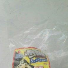 Juguetes antiguos y Juegos de colección: METAL RAPPERS EVOLUTION SHIN CHAN BRILLAN EN LA OSCURIDAD BOLLYCAO NEVADO. Lote 112668403