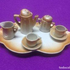 Juguetes antiguos y Juegos de colección: JUEGO DE CAFE EN MINIATURA. . Lote 112800851