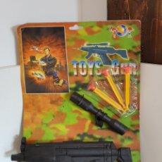 Juguetes antiguos y Juegos de colección: TOYS GNU AMETRALLADORA CON MIRILLA. Lote 113171419