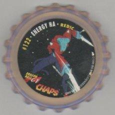Juguetes antiguos y Juegos de colección: COLECCIÓN TAZOS MATUTANO DRAGON BALL GT CHAPS TAZO CAPS POGS #122 122 - ENERGY HA - REDIC. Lote 113211616