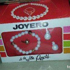 Juguetes antiguos y Juegos de colección: JOYERO DE LA SRTA PEPIS. Lote 113365003