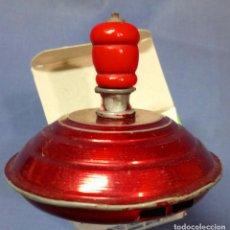 Juguetes antiguos y Juegos de colección: ANTIGUA PEONZA SILVANTE DE ALUMINIO, AÑOS 50. Lote 113406359