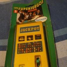 Juguetes antiguos y Juegos de colección: JUEGO BOLSILLO PAPIROTS JACKPOT AÑOS 70 A ESTRENAR. Lote 27265949
