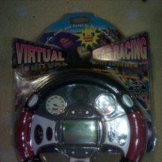 Juguetes antiguos y Juegos de colección: MAQUINITA LCD TIPO GAME & WATCH VIRTUAL CAR RACING. Lote 114591014