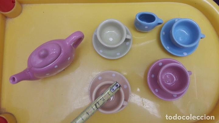 Juguetes antiguos y Juegos de colección: Juego de tazas de porcelana juguete - Foto 2 - 115291727