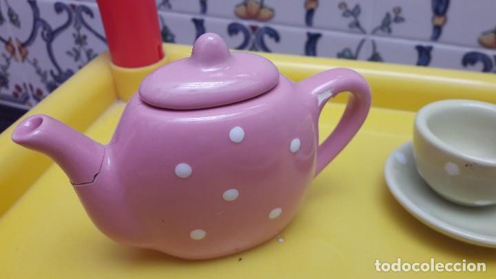 Juguetes antiguos y Juegos de colección: Juego de tazas de porcelana juguete - Foto 4 - 115291727