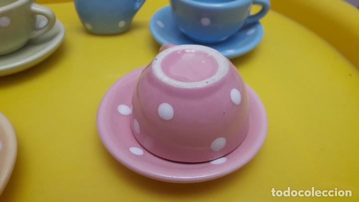 Juguetes antiguos y Juegos de colección: Juego de tazas de porcelana juguete - Foto 5 - 115291727