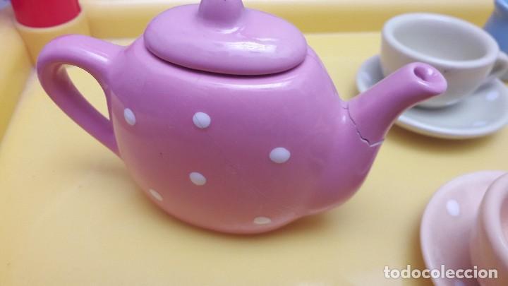 Juguetes antiguos y Juegos de colección: Juego de tazas de porcelana juguete - Foto 6 - 115291727