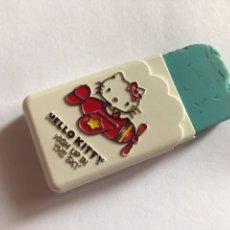 Juguetes antiguos y Juegos de colección: GOMA HELLO KITTY USADA MADE IN JAPAN. Lote 115293234
