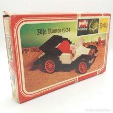 Juguetes antiguos y Juegos de colección: POLLY HOBBY ALFA ROMEO 1924 REFERENCIA 940. Lote 115429223