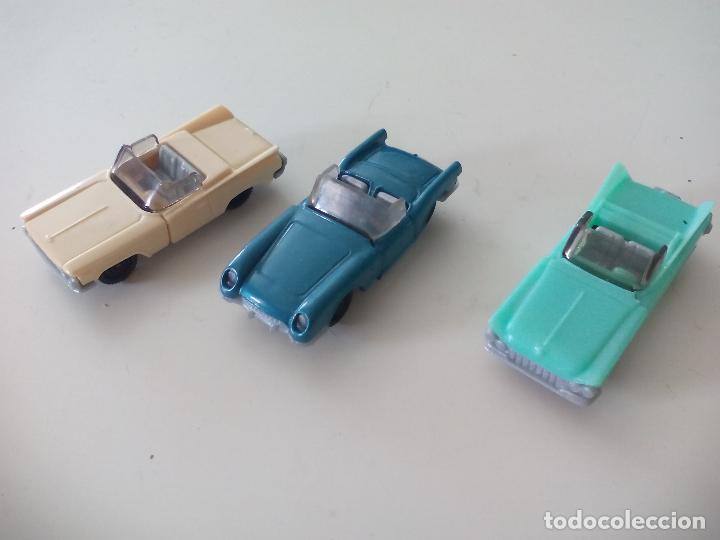 SorpresaFigura Huevos Tres Clásicos Miniatura Coches Kinder bvIgYf7y6