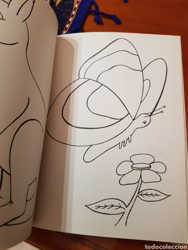 Lote Jumbo Color Libro De Colorear Para Niños Años 80 Perfecto Estado Juego Pinocho
