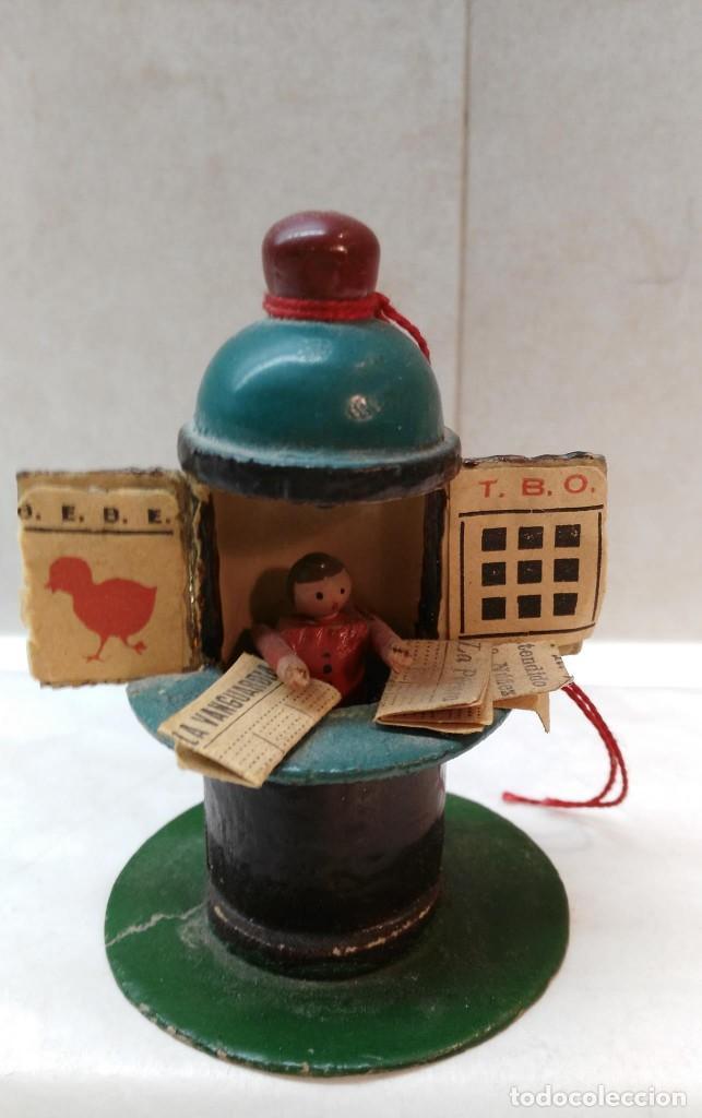 Juguetes antiguos y Juegos de colección: Kiosko de madera - Foto 2 - 117156199