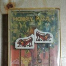 Juguetes antiguos y Juegos de colección: JUEGO DE BOLSILLO - JUEGOS DE BOLSILLO MONKEY PUZZLE -TOMY -POCKETEERS-MADE IN SINGAPORE. Lote 117485187