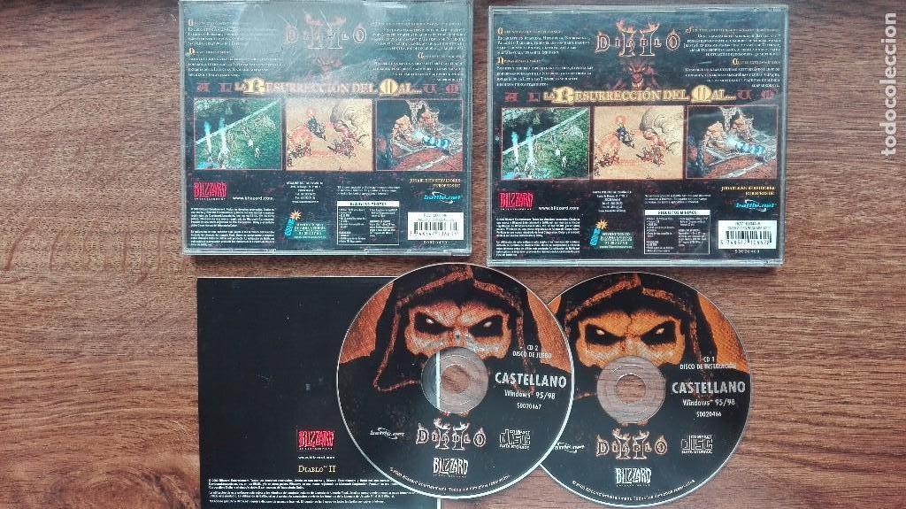 2 Discos Video Juegos Diablo De Bizzard Comprar En Todocoleccion