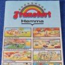 Juguetes antiguos y Juegos de colección: JE MEUBLE MA MAISON - TRANSFERT HEMMA. Lote 117994055