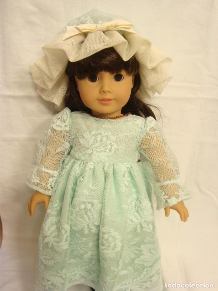 60% de liquidación muy baratas fecha de lanzamiento: Vestido para muñeca antigua