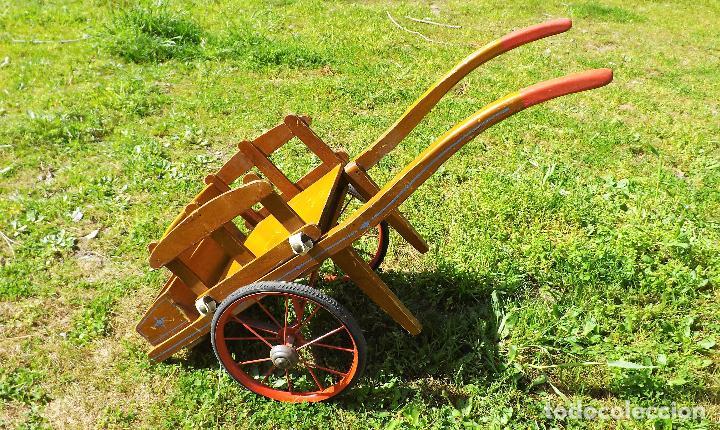Juguetes antiguos y Juegos de colección: Antigua carreta de juguete años 60 - Foto 2 - 119001679