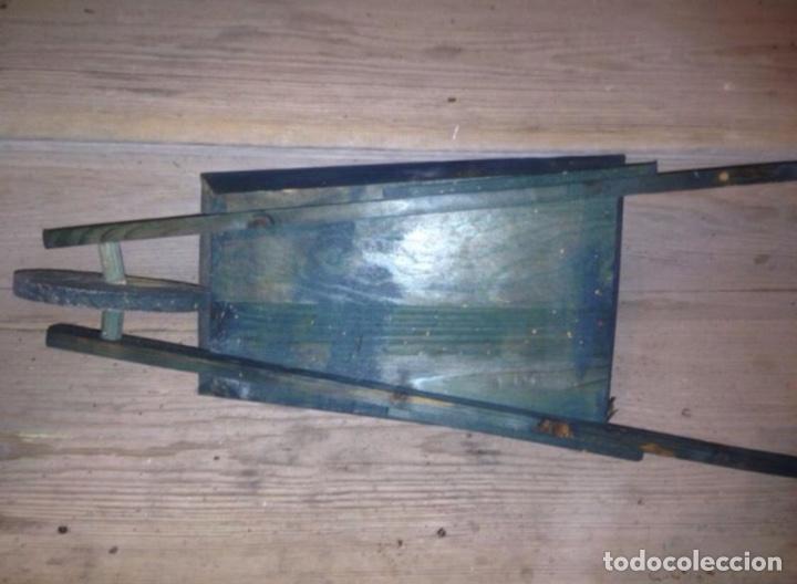 Juguetes antiguos y Juegos de colección: Carretilla madera 1930 - Foto 3 - 56029945