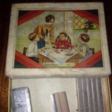 Juguetes antiguos y Juegos de colección: IMPRENTILLA EN SU CAJA ORIGINAL 1930 ORIGINAL. Lote 56645007