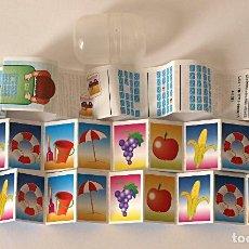 Juguetes antiguos y Juegos de colección: JUEGO KINDER MEMORY. JUEGO DE HACER PAREJAS. 24 CARTAS. VER FOTOS Y DESCRIPCION. Lote 120458607